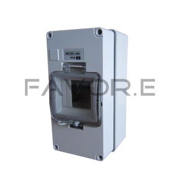 FH56CB4N-WO Waterproof Enclosure Box-Our IP66 RCD - MCB - Circuit Breaker Enclosure box is selling very well in Australia and NZ,IP66 RCD - MCB - Circuit Breaker Enclosure box is according to Australia and NZ standard,pls send enquiry of IP66 RCD - MCB - Circuit Breaker Enclosure box to sales@chnfavor.com