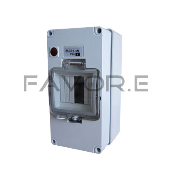 FH56CB4N-W Waterproof Enclosure Box-Our IP66 RCD - MCB - Circuit Breaker Enclosure box is selling very well in Australia and NZ,IP66 RCD - MCB - Circuit Breaker Enclosure box is according to Australia and NZ standard,pls send enquiry of IP66 RCD - MCB - Circuit Breaker Enclosure box to sales@chnfavor.com